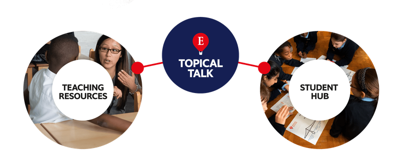 About Topical Talk Logos